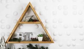 Make A Triangle Shelf
