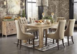w a akins sons mestler washed brown rectangular dining table w 6