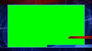News Overlay Green Screen