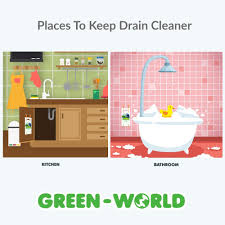 Drano To Clean Bathtub by Amazon Com Drain And Cleaning Tool By Green World Set