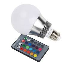 16 multi color 5w 10w magic e27 e14 rgb led l light bulb ir