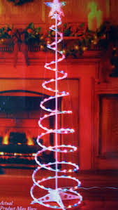 8 Ft Pre Lit Multicolor Christmas Tree by Spiral Lighted Christmas Tree Stunning Led Spiral Tree Outdoor