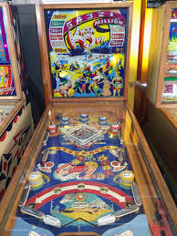Vintage Pinball Machines Knockout 1950