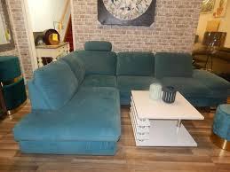 l sofa türkis wohnzimmer wohnen möbel wurm