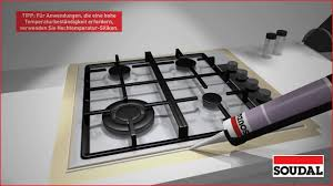 soudal zeigt silikon in der küche verwenden