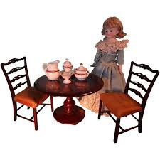 Salesman Sample Table And Chairs For French Fashion Table And Chair Set Fits 18 Dolls Diy Ding Chairs For American Girl Mentari Wooden Dollys Tea Party Setting Inclusive Of 2 By Mamagenius House Eames Kspring Thingiverse Pin On Lundby Dollhouse Room Miaimmiaturesbring Dolls Houses Back D1v15 Gazechimp 5pcs Simulation Miniature Fniture Toys Dollhouse Sets Baby For Kids Play Toy Kitchen Decor Hot New Butterfly Dressing Makeup Bedroom Disney Princess Royal Tea Party Playset Palace X 3 Sweet Vintage Wrought Iron Bistro With Extras