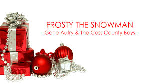 Frosty The Snowman Christmas Tree Ornaments by Classic Christmas ǀ Frosty The Snowman Gene Autry U0026 The Cass