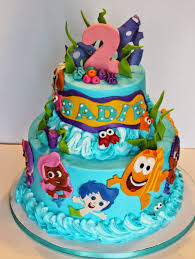 and everything sweet bubble guppies cake
