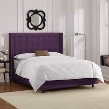 Purple Velvet King Headboard by Velvet Beds For Less Overstock Com