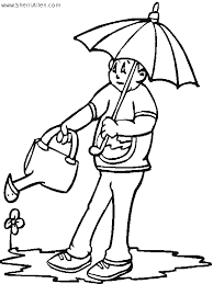 Free Seasonal Coloring Pages From SherriAllen