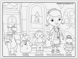 Doc Mcstuffins Coloring Pages To Print And Free Pdf