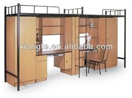 bureau superposé lit superpose avec bureau maison design sibfa com