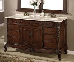 Small Double Sink Vanity by 60 Vanity Double Sink Sonoma 60 In W X 22 In D Double Bath Vanity