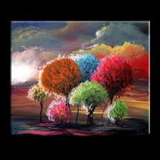 Easy Abstract Paintings Of Nature Images Pictures