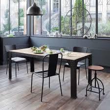 chaise industrielle maison du monde chaise indus en métal vérandas décoration intérieure et chaises
