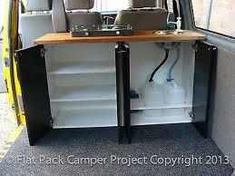Camper Van Unit Conversion Guide For VW T4 T5 Transporter Vito Transit Vivaro