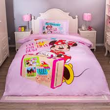 Minnie Mouse Bedding Set Twin by Minnie Mouse Bedding Sets 100 Cotton Bedclothes Cartoon Disney