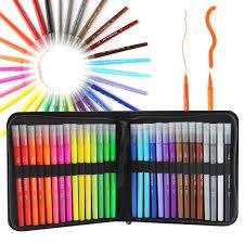 Livre De Coloriage CREATEUR DE GENIE Effa Able Avec Ses 4 Feutres