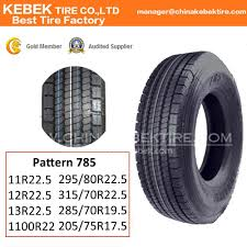 100 Truck Tire Size China Kebek Hot Sale Radial China TBR Tyre