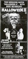 Halloween Ii 1981 Cast by The Horrors Of Halloween Halloween Ii 1981 Newspaper Ads Vhs
