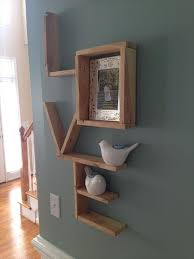 diy pallet love wall shlelf pallet furniture diy for the home