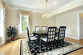 Dining Area Rugs Room Best Elegant Square Big Size