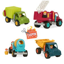 Battat Toy Trucks Including Garbage Truck - Deals! | Hot Coupon World Amazoncom Memtes Friction Powered Garbage Truck Toy With Lights City Cleaner 124 Rtr Electric Lego 60118 Big W Suppliers And Manufacturers At Bruder Man Side Loading Orange Diecast Trash Trucks Toys Best 2018 Btat Cluding Deals Hot Coupon World Fagus Wooden The Top 15 Coolest For Sale In 2017 Which Is First Gear 134 Scale Model Frontload Youtube Thrifty Artsy Girl Take Out The Diy Toddler Sized Wheeled