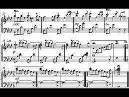 pat metheny letter from home piano transcription muzik