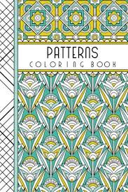 Patterns 4 X 6 Pocket Coloring Book Featuring 75 For