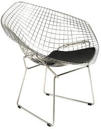 Diamond Chair (Knoll International) - Harry Bertoia, 1952 | Design ... Bertoia Diamond Lounger Knoll Shop Diamond Ta Armchair Nuans Chair Intertional Harry 1952 Design Armchair Gold Plated Couch Potato Company By Cane Line Yliving With Sunbrella Cushion Skandium Eyecatching Harryarm Insp Metal Chair Stylized Outdoor Bronze Base Tonus 4 210 Small With Seat Cushion