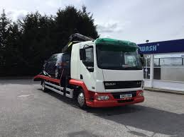 DAF LF45 170 Hiab Recovery Truck Sleeper Cab Reduced To Clear On All ...