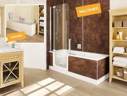 kleines bad ganz groß mit der twinline duschbadewanne