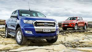 Ford Ranger Vs Toyota Hilux Comparison Test 2016