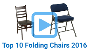 Hercules Padded Folding Chairs by Top 10 Folding Chairs Of 2016 Video Review