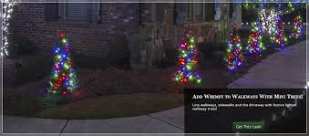 Spiral Lighted Christmas Trees Outdoor by Outdoor Christmas Yard Decorating Ideas