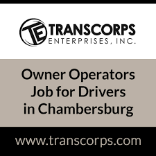100 Owner Operator Trucking Jobs S Job For Drivers In Chambersburg