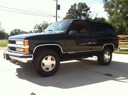 Sell used 1997 CHEVROLET TAHOE LT RARE 2 Door 5 7L ALL STOCK in