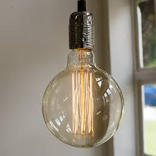 large globe decorative light bulb