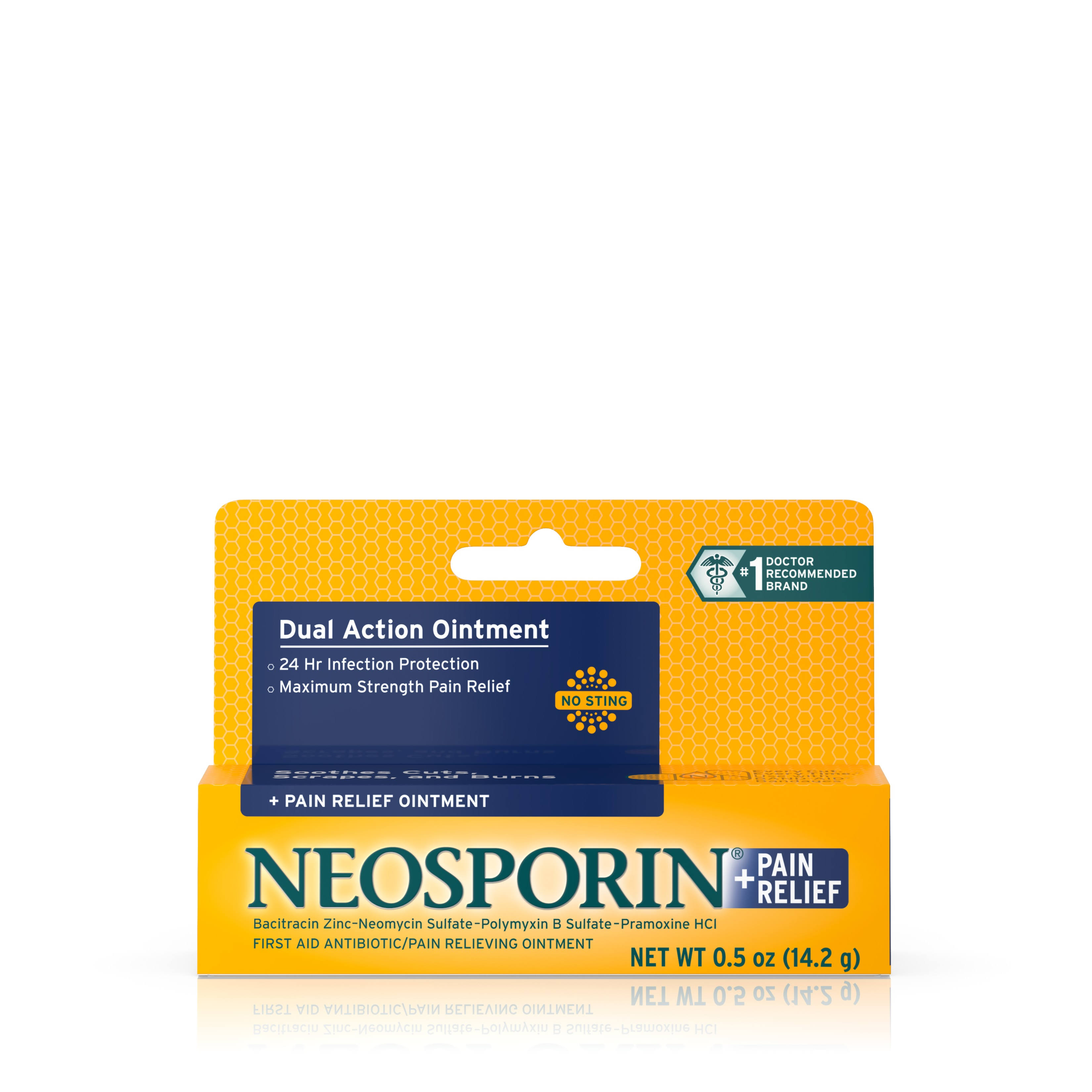 Neosporin Pain Relief Ointment - 0.5oz
