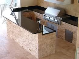 Outdoor Kitchen Appliances An Outdoor Kitchen Just A Grill This
