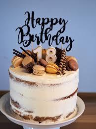 semi cake zum 18 geburtstag ideenparty