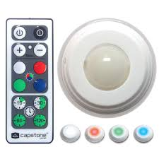 hoover multi color led accent lights with remote packr