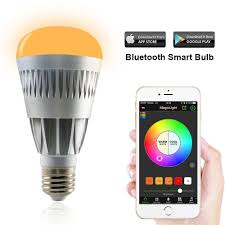 High Ceiling Light Bulb Changer Amazon by Magiclight Pro Bluetooth Smart Led Light Bulb Smartphone