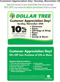 Dollar Tree Coupons - Quick 10% Off Sunday At Dollar Tree