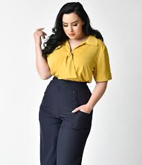 1940s style blouses tops shirts