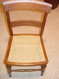 Recaning A Chair Back by Chair Caning