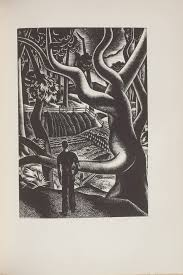 Untitled Illustration 47 In The Book Wild Pilgrimage By Lynd Kendall Ward New York Harrison Smith Robert Haas 1932
