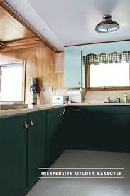 Light Sage Green Kitchen Cabinets by Cabin Update Thinking Green In The Kitchen