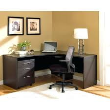 Desk Diy L Shaped With Hutch File Cabinets Modern