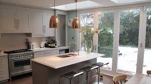 chic copper lighting barstool kitchen island kitchen island with